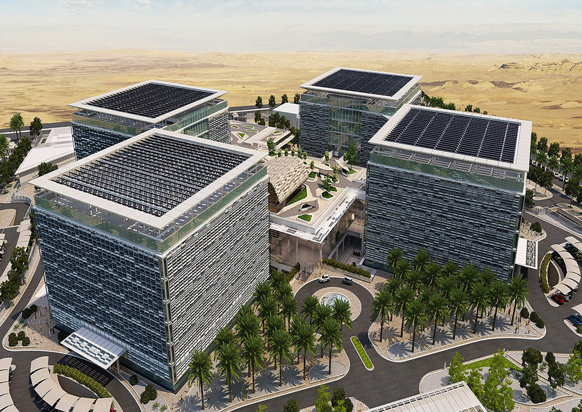 Smart Workforce and Productivity Management Implementation in Saudi Arabia Electricity Company Headquarters Project